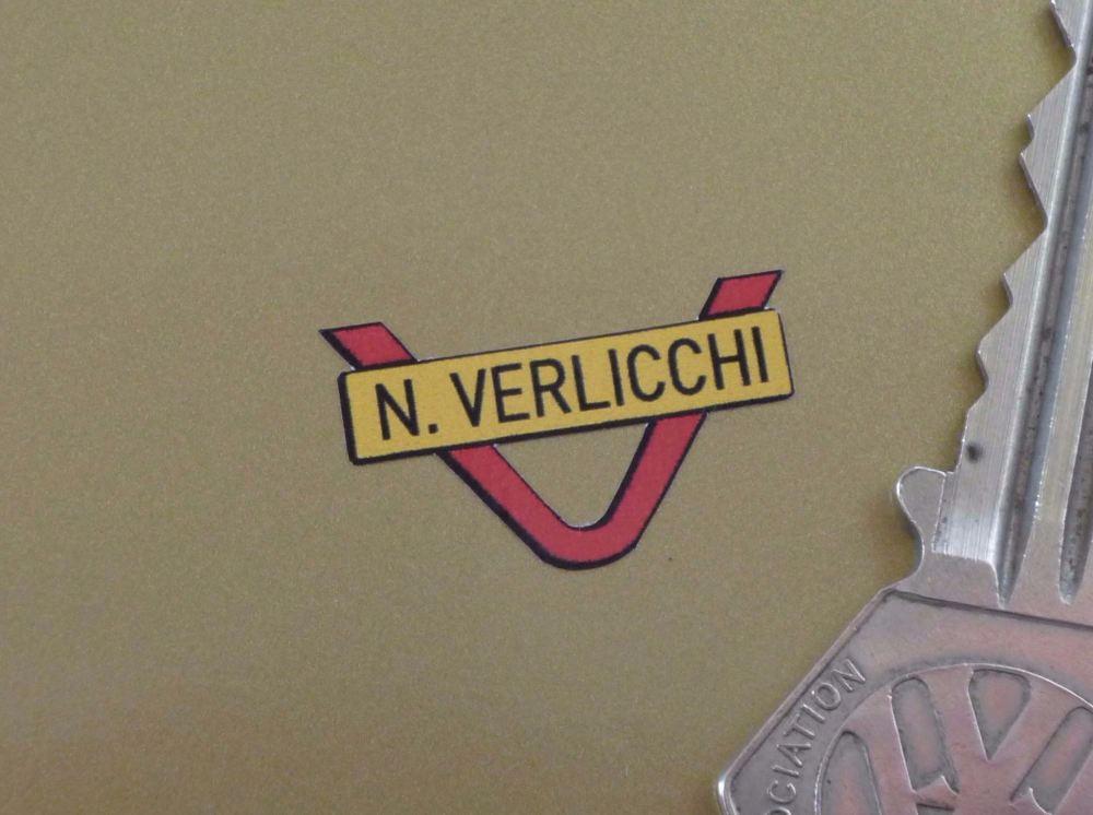 N. Verlicchi Handlebars Sticker. 24mm.