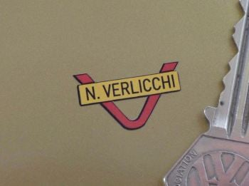 N. Verlicchi Handlebars Sticker for Dark Backgrounds 24mm