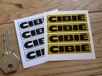 Cibie Coachlined Oblong Stickers. 60mm. Set of 4.