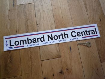 "Lombard North Central Financing Instalment Credit Leasing Sticker. 18""."