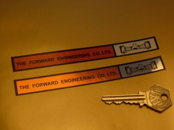 "The Forward Engineering Co. Ltd. Sticker. 5.5""."