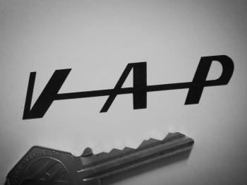 "VAP Moped Engines Cut Vinyl Stickers. 3"" Pair."