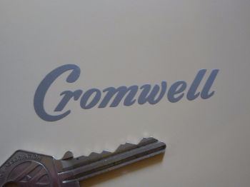 "Cromwell Cut Vinyl Stickers. 3"" Pair."