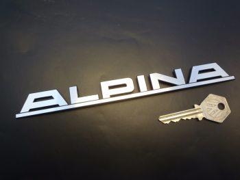 Alpina BMW Laser Cut Self Adhesive Car Badge. 7.75""