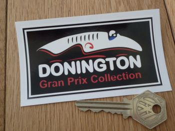 "Donington Gran Prix Collection Sticker. 4""."