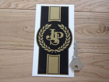 "JPS John Player Special Logo & Stripes Sticker. 6""."