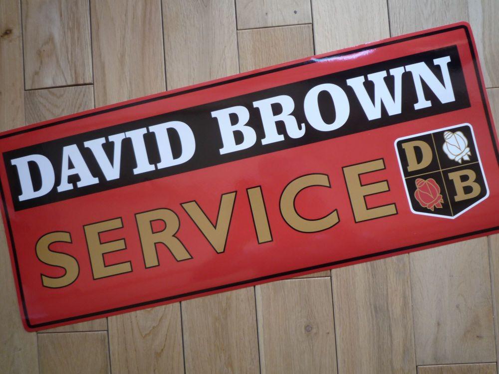 """David Brown Service Sticker. 23.5""""."""