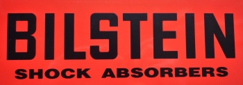 "Bilstein Shock Absorbers Cut Vinyl Text Sticker. 24""."