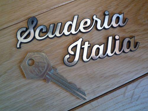 Scuderia Italia Laser Cut Self Adhesive Car Badge.