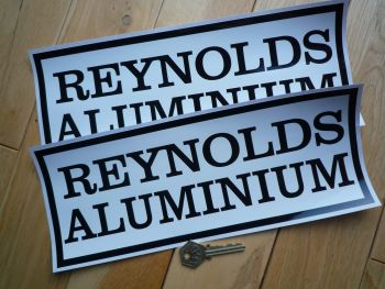 "Reynolds Aluminium CanAm Group 3 McLaren Style Stickers. 12"" Pair."