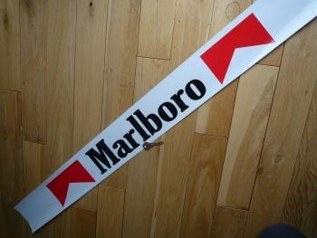 "Marlboro Racing Car Small Sunstrip Style Sticker. 43.5""."