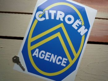"Citroen Agence Sticker. 12""."