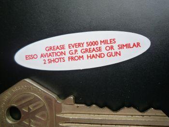 "Smiths Speedo Drive Oval Motorcycle Sticker for Triumph, Norton, BSA. 2""."