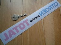 Citroen Prefers Total Window Sticker  11.75