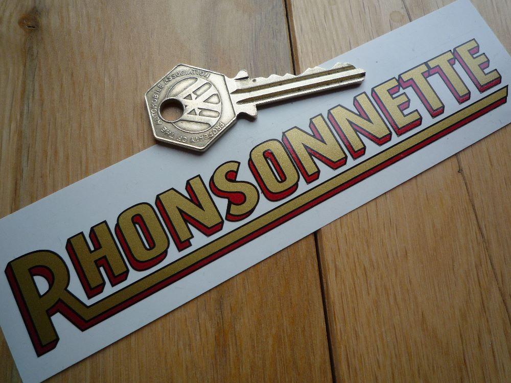 Rhonsonnette