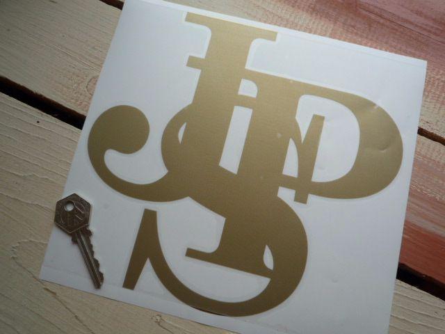 "John Player Special JPS Logo Cut Vinyl Sticker. 8.5""."