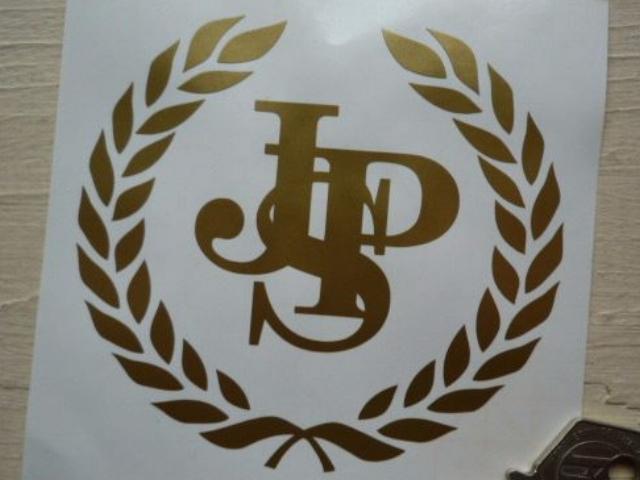 """John Player Special JPS Garland Cut Vinyl Sticker. 15"""""""