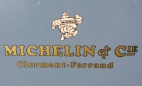 Michelin Vintage Style Van Door / Lightbox Stickers. Set #1. 17.5