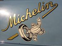 Michelin Vintage Style Van Door / Lightbox Stickers. Set #3. 25.5