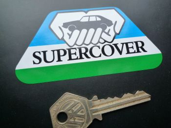 "British Leyland Austin Morris Jaguar Rover Triumph Supercover Sticker. 4""."