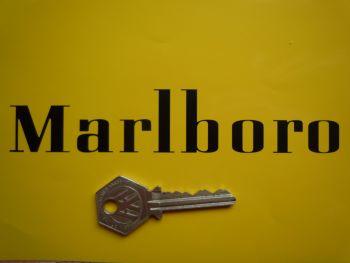 "Marlboro Cut Text Style B Sticker. 31""."