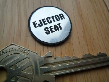 Ejector Seat Style Self Adhesive Laser Car Badge. 25mm.