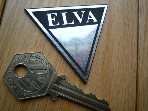 ELVA Self Adhesive Car Badge.