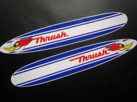 Thrush Surfboard Shaped Stickers. 6