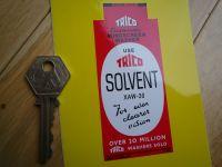 Trico Solvent Washer Bottle Bracket Shaped Sticker. 4