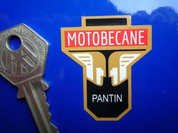 "Motobecane Pantin France Steering Head Headstock Style Sticker. 1.75""."