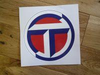 Talbot Circular Logo Sticker. 16