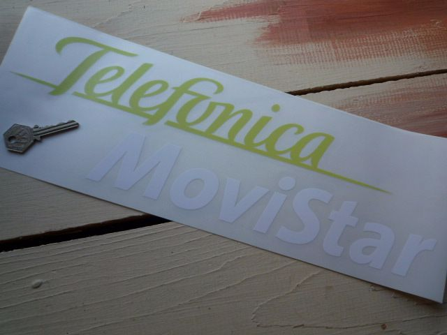 "Telefonica MoviStar Sticker. 16""."