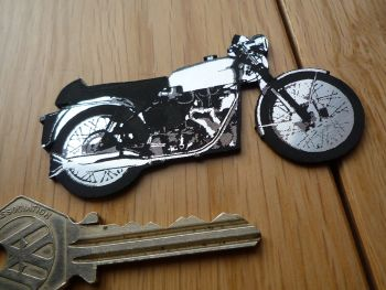Velocette Venom Classic Motorcycle Style Laser Cut Magnet. 3""