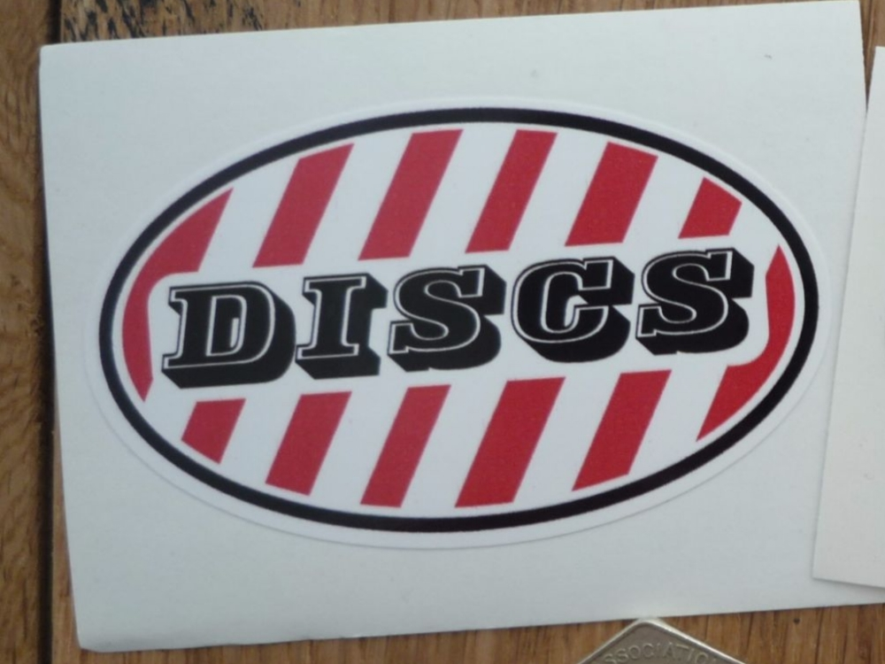 """Scooter Discs Stickers. 3""""."""