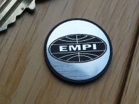 EMPI Logo Style Self Adhesive Laser Car Badge. 25mm.