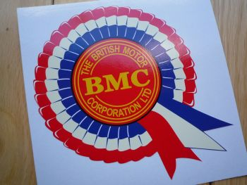 "BMC Off White Rosette Stickers. 4"" or 6"" Pair."