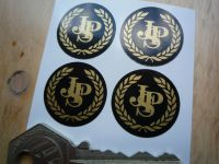 JPS John Player Special Stickers. 25mm. Set of 4.