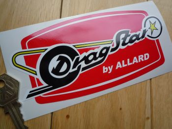 "Allard Dragstar Stickers. 6"" Pair."