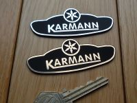 Karmann Logo Laser Cut Self Adhesive Car Badge. 3