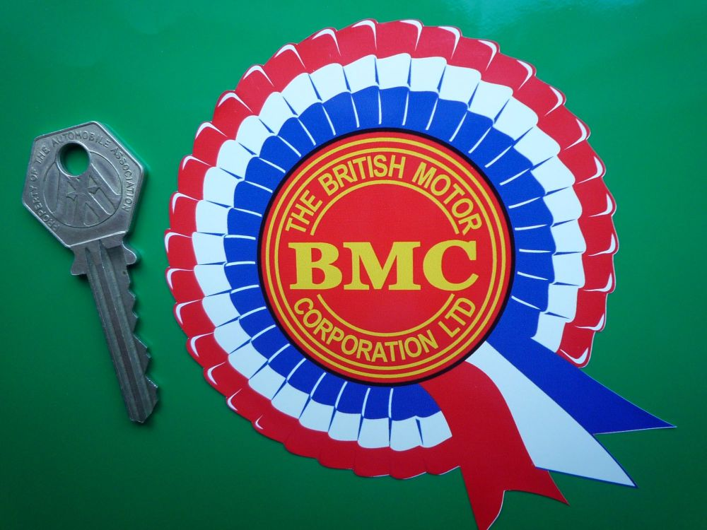 BMC Rosette Stickers. 2