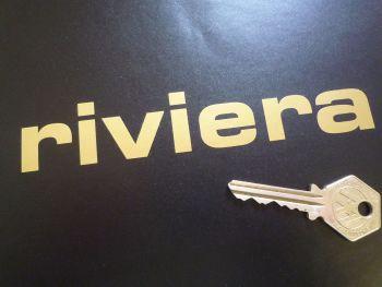 "Lotus Riviera Cut Vinyl Sticker. 6""."