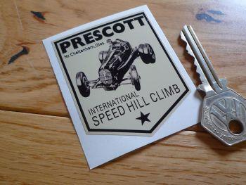 """Prescott Speed Hill Climb Sticker. 2.5""""."""