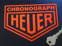Heuer Chronograph Cut Vinyl Stickers. 4