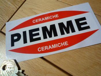 """Piemme Ceramiche Villeneuve Helmet Style Sticker. 5""""."""