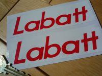Labatt Old Style Gilles Villeneuve Helmet Stickers. 5