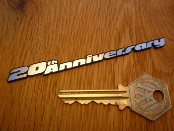 "Volkswagen VW Golf Gti Mk3 20th Anniversary Self Adhesive Car Badge. 4""."