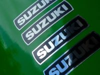 Suzuki GT750 550 380 250 etc Series Disc Brake Caliper Stickers. 35mm Pair.