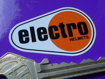 Electro Helmet Sticker. 47mm.