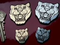 "Jaguar Growler Laser Cut Self Adhesive Car Badge. 1"" or 2""."