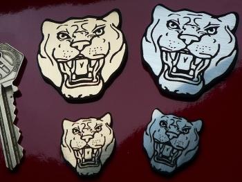 """Jaguar Growler Laser Cut Self Adhesive Car Badge. 1"""" or 2""""."""